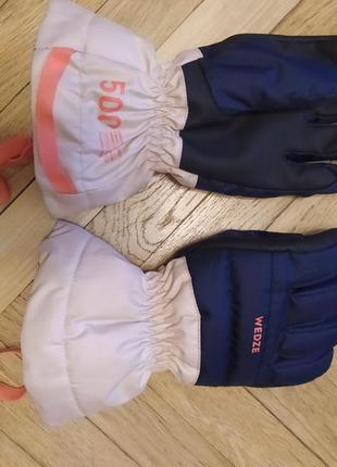 Дитячі рукавиці на 6-8 років wedze