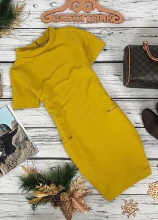 Платье из плотной ткани прямого кроя  dr53142  tu