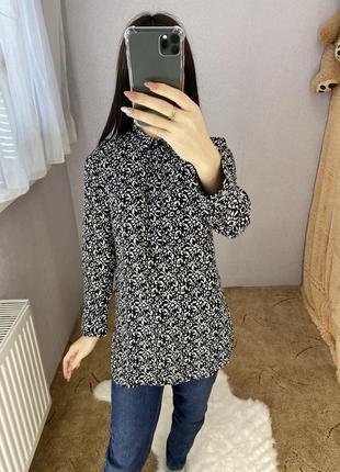 Блуза блузка удлиненная