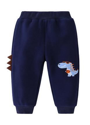 Утепленные спортивные штанишки, штаны на меху