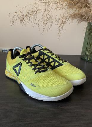 Жовті кросівки reebok crossfit nano 6 оргинальные кроссовки