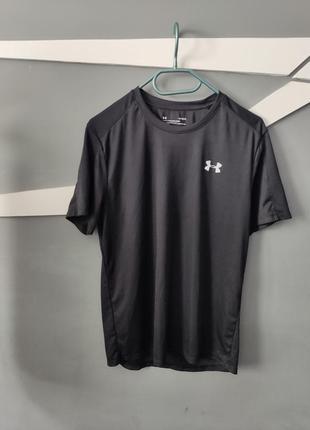 Under armour мужская черная футболка
