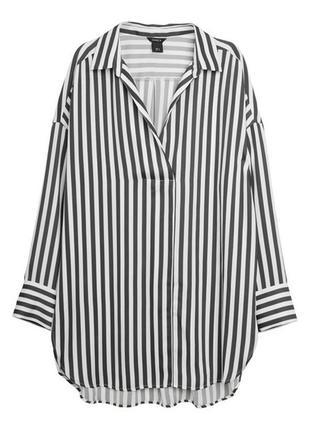 Блуза в полоску р. 54