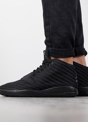 Чорні кросівки nike air jordan eclipce chukka оргинальные кроссовки