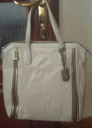 Кожаная сумка furla оригинал италия