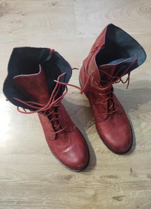 Демисезонные ботинки с высоким берцем, берцы/ батильоны  lazamani 42/26.5 о