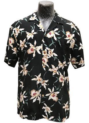 Гавайская рубашка paradise found star orchid