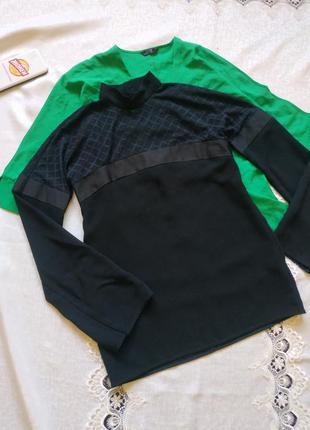 Красивая блуза с длинными рукавами