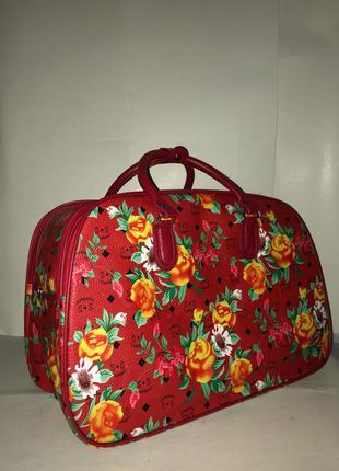 🔥в наличии! стильная дорожная сумка ручная кладь саквояж из эко кожи дорожня сумка