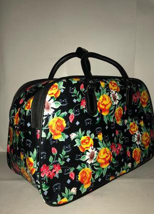 🔥в наличии! стильная дорожная сумка саквояж из эко кожи дорожня сумка