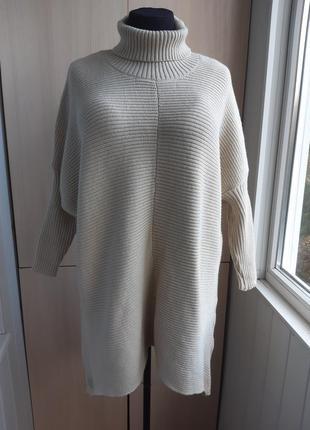 Супер-теплое платье большого размера.