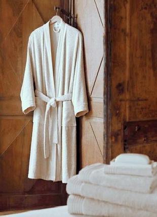 Svilanit махровый халат кимоно (италия)100% cotton