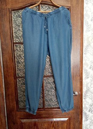 Джогеры# джинсовые летние штаны