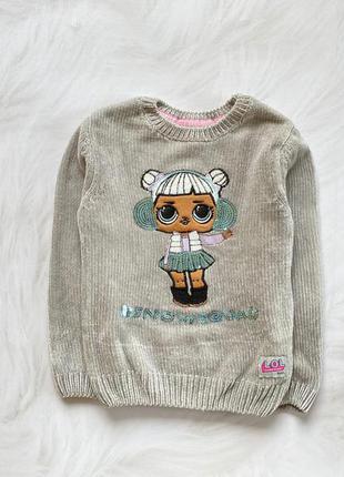Primark стильный свитер на девочку 6 -7 лет