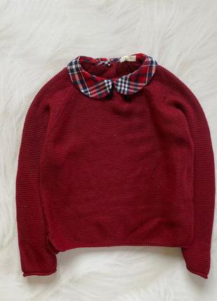 Next стильный свитер на девочку   4- 5  лет