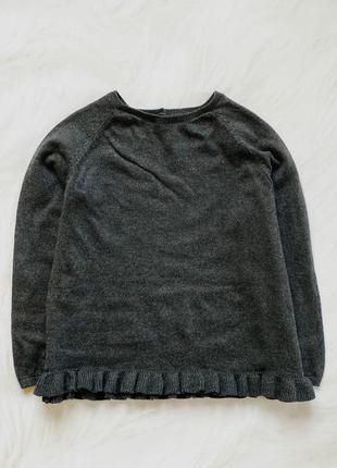 F&f   стильный свитер на девочку  6- 7 лет