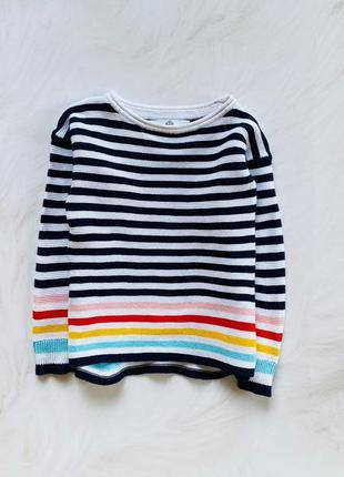 M&s стильный свитер  на девочку  5-6 лет
