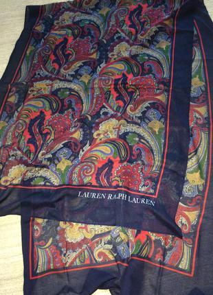 Очень красивая шаль шарф