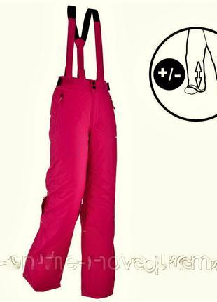 Зимние лыжные штаны wed'ze 500 pull'nfit с регулировкой длины рост 115-130