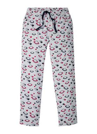 Байковые пижамные штаны р.м (40-42)