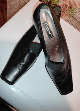 Туфли натуральная кожа 41размер gabor