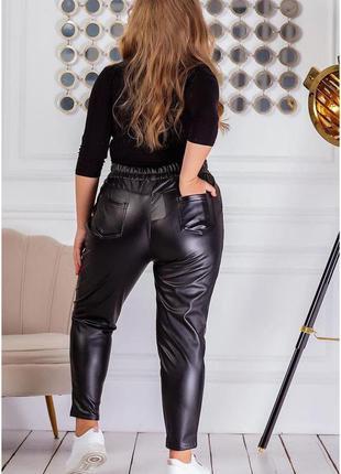 Тёплые качественные брюки на флисе под кожу осень-зима -50 52 54р