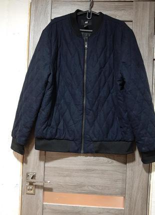 Куртка бомпер осіння h&m