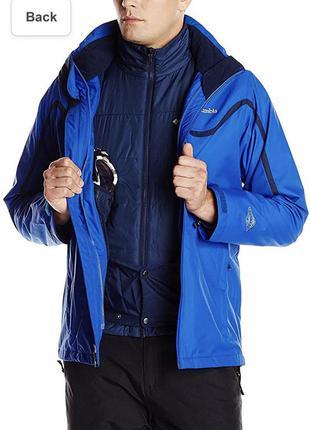 Мужская куртка columbia whirlibird interchange jacket with detachable storm hood