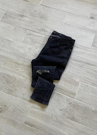 Джинсы bershka зауженные джинсы