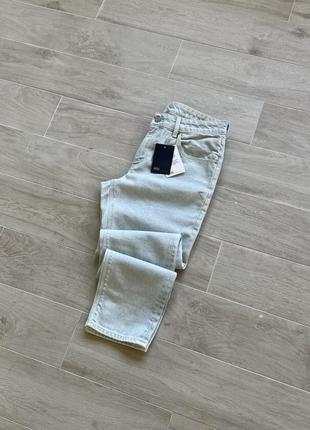 Джинсы мом зауженные джинсы тапёры