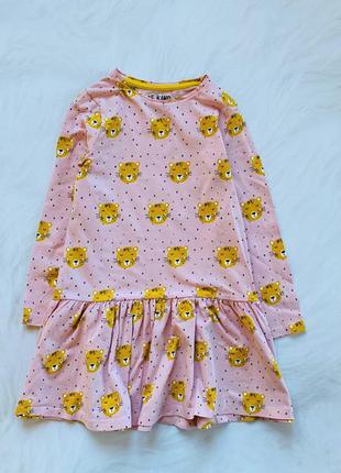 F&f   стильное платье на девочку  5-6 лет