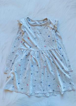 Mothercare стильное платье на девочку  4-5 лет