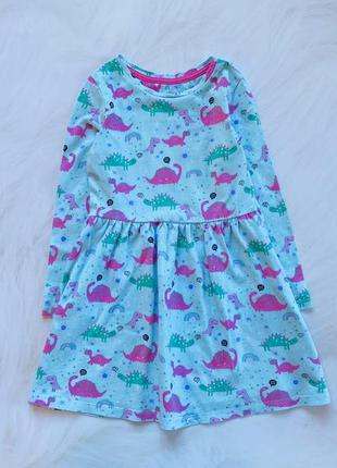 Mothercare стильное платье на девочку  3-4 года