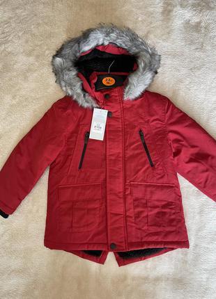 Куртка парка с мехом