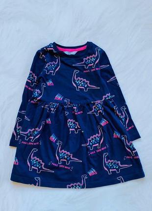 M&s  стильное платье на девочку 2-3 года