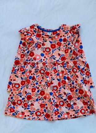 Tu стильное платье на девочку  2-3 года