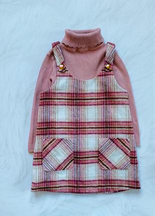 F&f стильный теплый  комплект на девочку  2-3 года