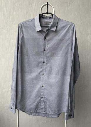 Крута сорочка calvin klein jeans slim fit