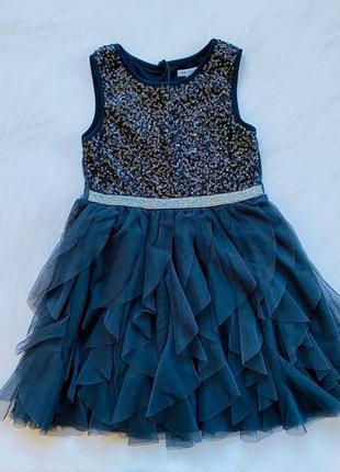 Primark стильное платье на девочку  6-7 лет