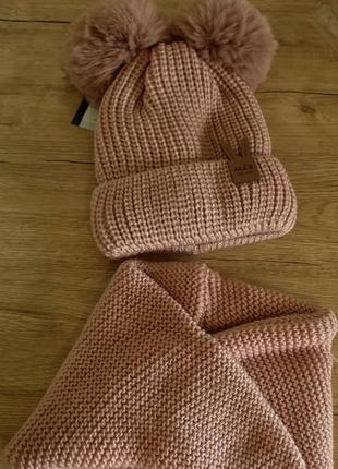 Комплект  шапочка з хомутиком