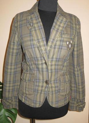 Пиджак жакет с подкладом
