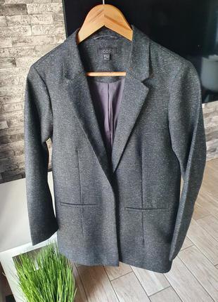 Cos пиджак шерстяной блейзер жакет