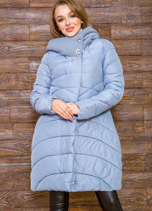 Красивая демми удлинённая куртка с капюшоном- xs s m l