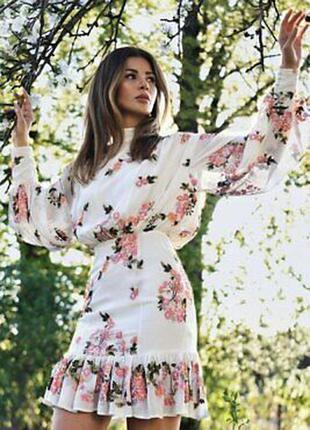 Потрясающее платье с вышивкой в цветы, вышитое платье asos edition, вышиванка!
