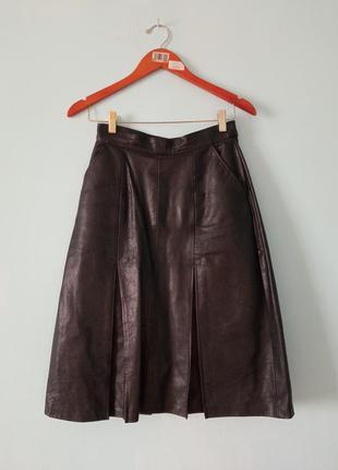 Спідниця юбка кожа