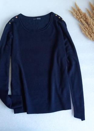 ✨теплий, тонкий  светр із декоративними гудзиками✨