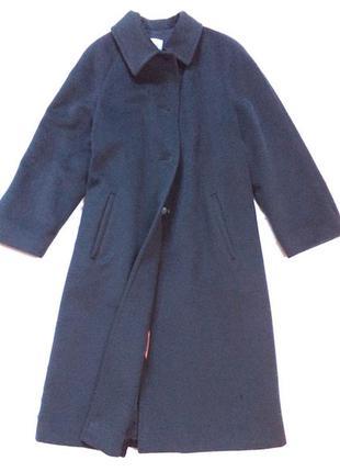 Брендовое пальто лана,шерсть на л