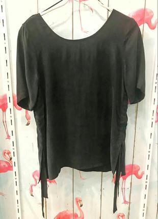 Шелковая блуза от vila clothes