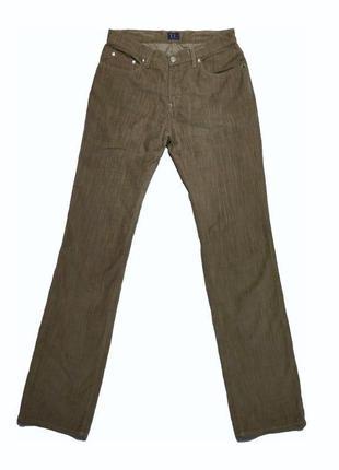 Вельветовые джинсы trussardi италия /1234/