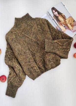 Дуже теплий светр оверсайз з мохером від new look